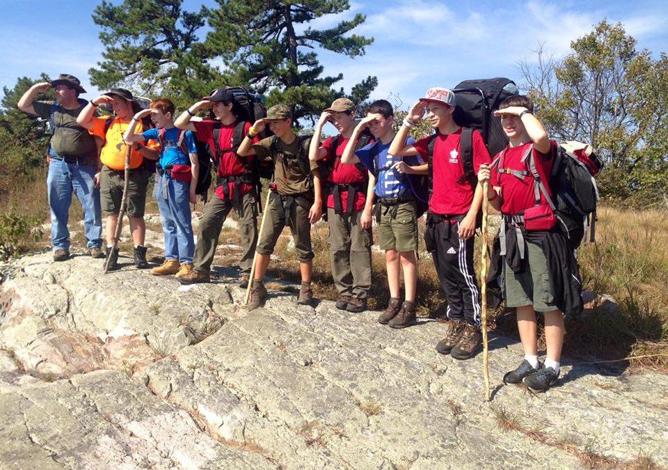 Troop 36 Backpacking